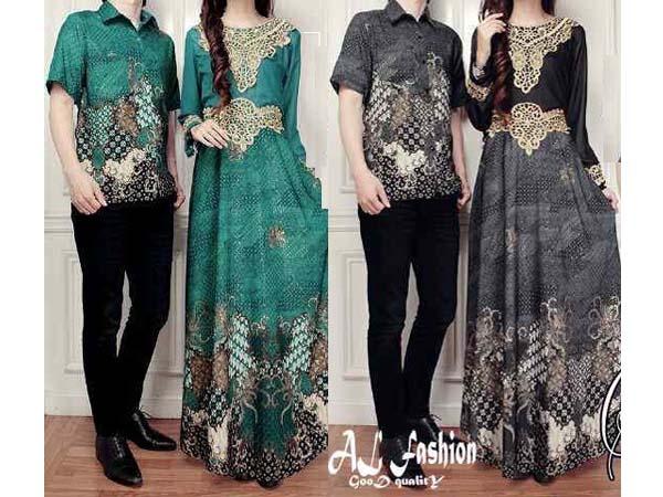 Jual Online Batik Couple Elegant Model Fashion Korea Terbaru diJakarta
