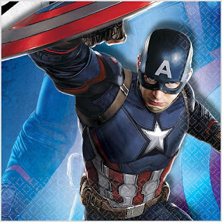 Captain America Civil War party supplies