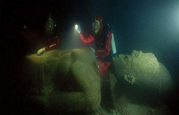 Ανακαλύφθηκε βυθισμένη πόλη που ένωνε την αρχαία Ελλάδα με την Αίγυπτο! (photos)