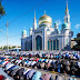 Eid prayers in Russia : Moscow's Muslims change the city