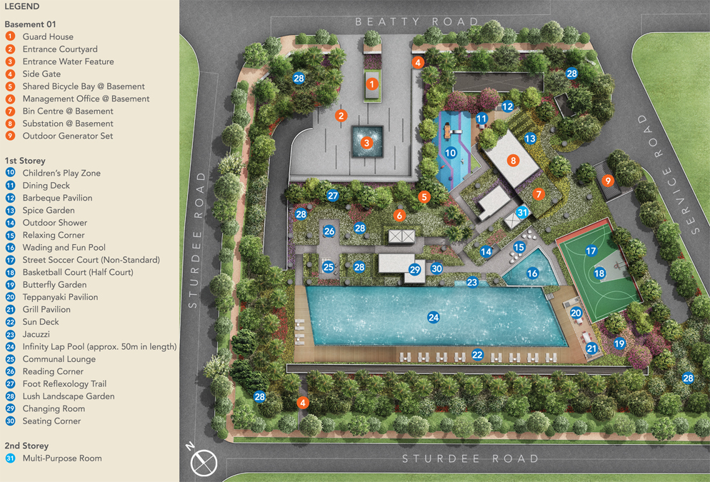 Sturdee Residences Facilities Plan