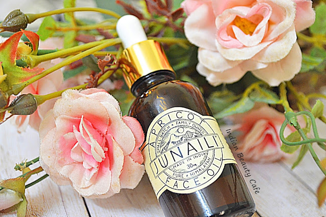 Junaili Apricot Face Oil Packaging