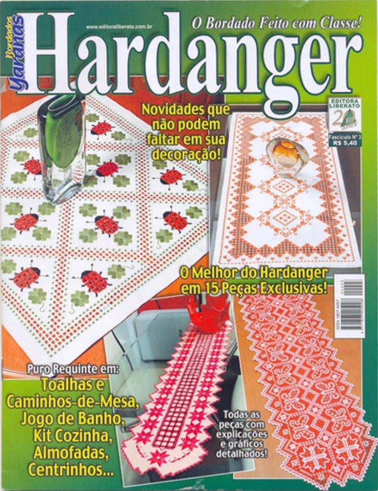 Revista: O bordado feito com clase hardanger [Portugués] - http://descarga-gratis-libros.com/