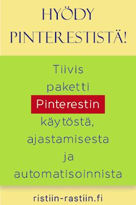 Tiivis paketti Pinterestin käytöstä