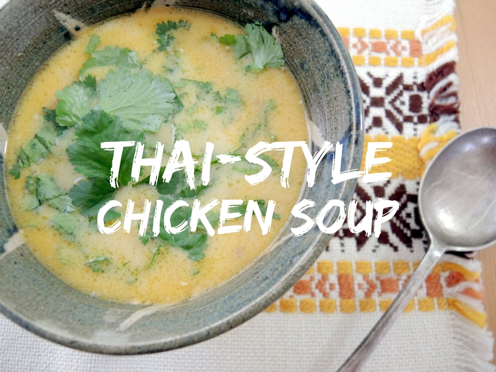 katiecrackernuts.blogspot.com.au || thai style chicken soup