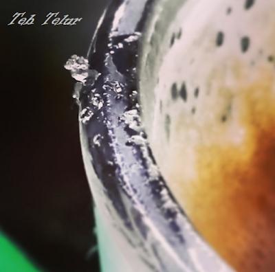 Minuman Khas Riau Pelepas Dahaga teh telur panas dingin kristal gula