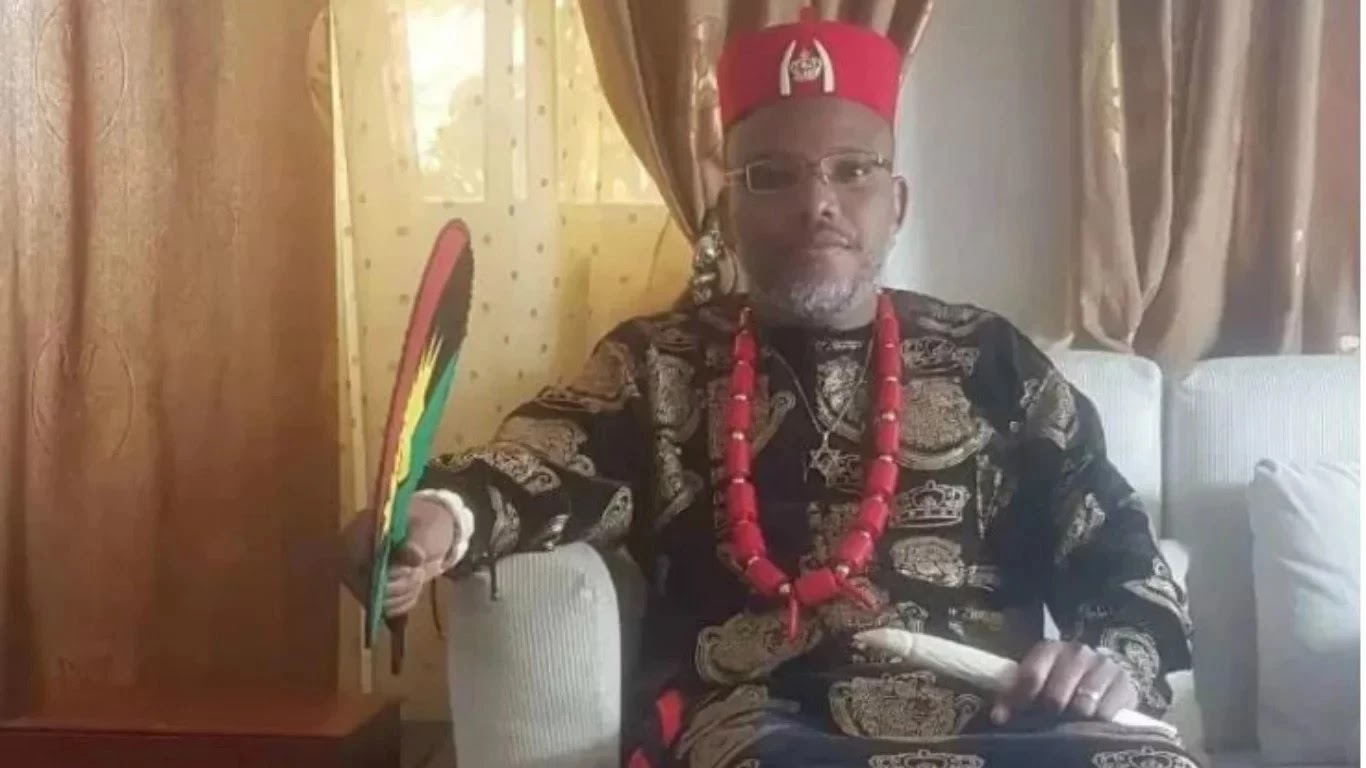 Nnamdi Kanu of Biafra says we will retaliate if anything happens