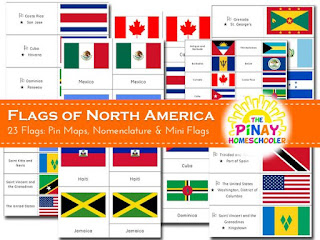 Flags of North America