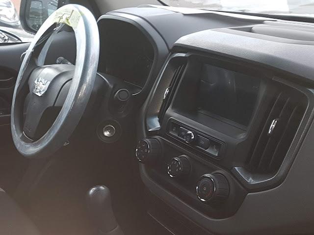 Chevrolet S-10 Cabine Dupla Flex 2017 Advantage - MyLink