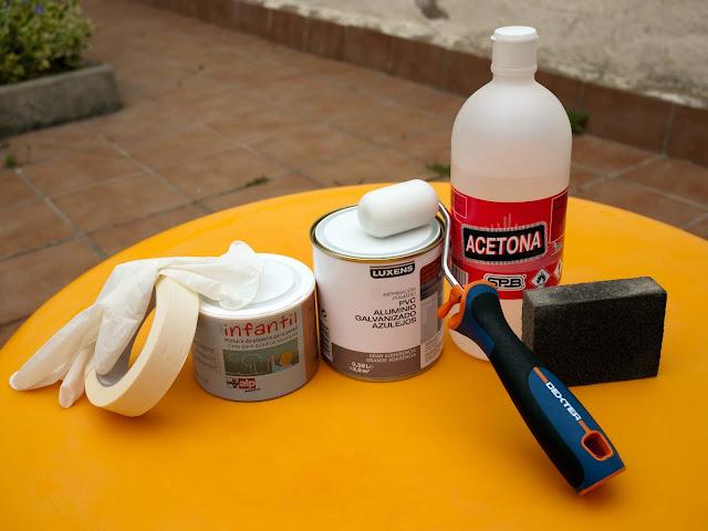 Materiales para hacer una mesa pizarra