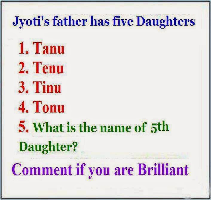 Name of the 5th Child
