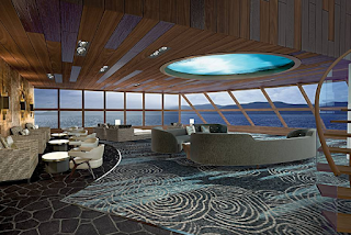 HAVEN OBSERVATION LOUNGE на борту нового Norwegian Bliss NCL