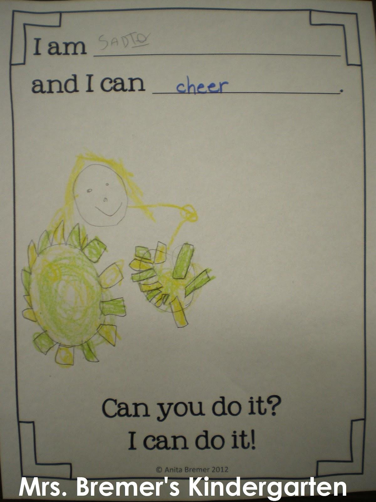Mrs Bremer S Class 5 Senses Potato Head And We Can Do It