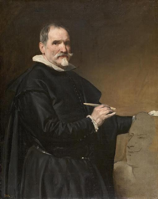 Velázquez, Retrato de Juan Martínez Montañés, 1635