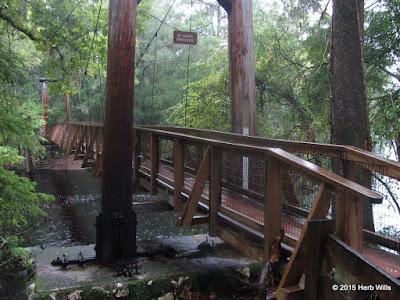 O'Leno State Park bridge