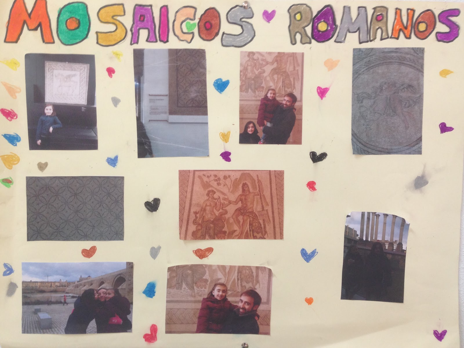 Experiencias de colores mosaicos romanos - Mosaicos de colores ...