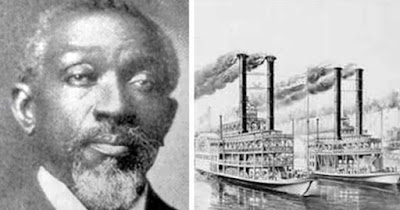 Benjamin T. Montgomery, former slave who invented steamboat propeller
