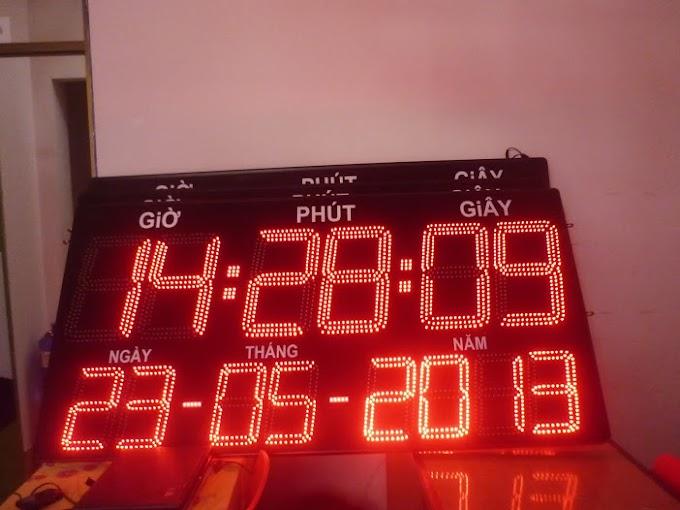 Đồng hồ lịch vạn niên bằng Led - Kích thước lớn