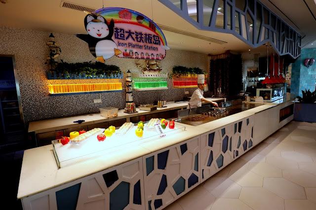 珠海長隆企鵝酒店 帝企鵝自助餐廳 早餐
