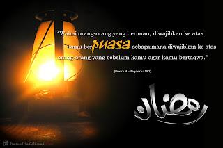 Kewajipan berpuasa di bulan ramadhan dan keringanan bagi yang sakit