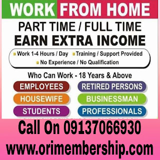 Oriflame Work From Home