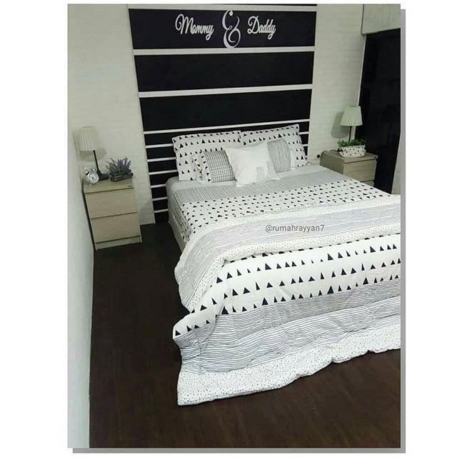 Inspirasi Desain Kamar Tidur Paling Keren Warna Putih ...