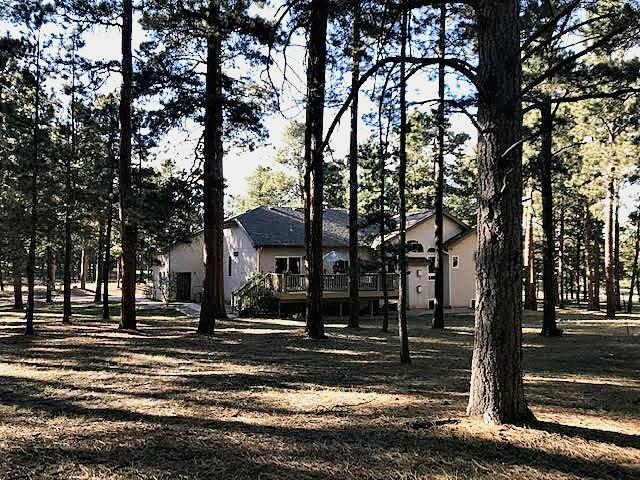 Back of Wissler Ranch Home