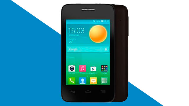 rom stock Alcatel OT Pop D1 4018a