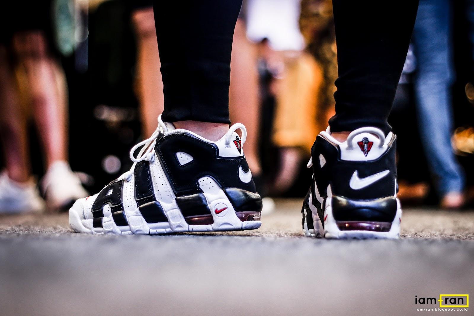 IAM RAN: ON FEET : Agnes Nike Air Uptempo