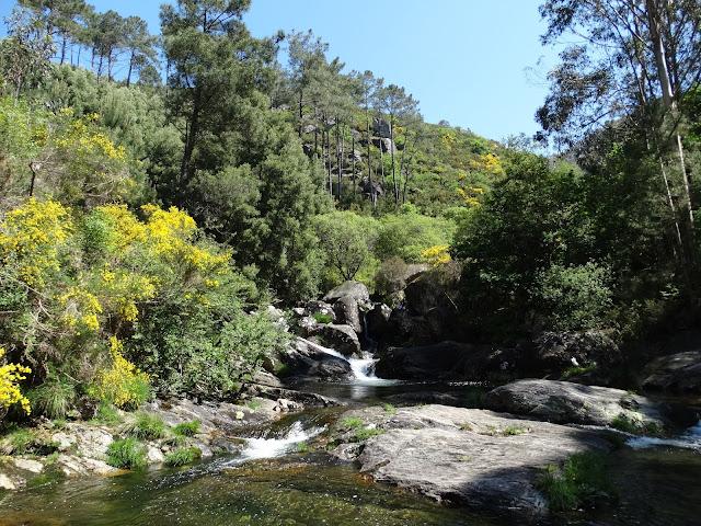 Pozas del río Pedras en A Pobra