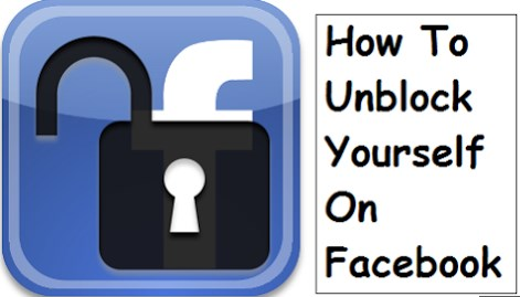 How to Unblock Myself on Facebook