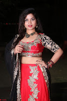 Sirisha Dasari in Red Ghagra Backless Choli ~  025.JPG