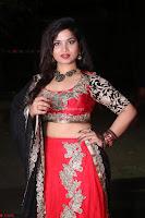 Sirisha Dasari in Red Ghagra Backless Choli ~  025.JPG