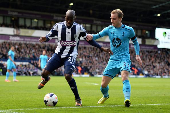 Tottenham Hotspur vs West Bromiwich Albion