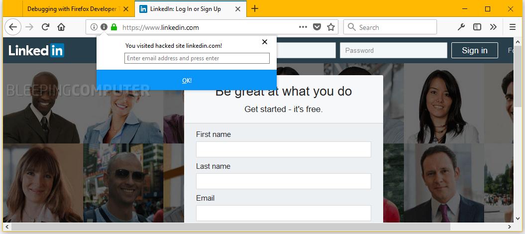 Firefox-plugin-sito-hackeraggio