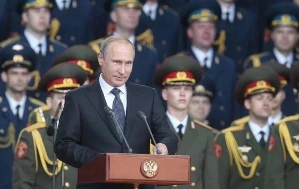 Eκτάκτως ο Β.Πούτιν,υπέγραψε διάταγμα για την δημιουργία της Ρωσικής Εθνικής Φρουράς