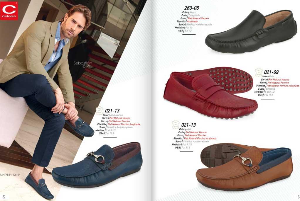 Zapatos cklass primavera verano 2018 calzados caballeros for Zapatos por catalogo
