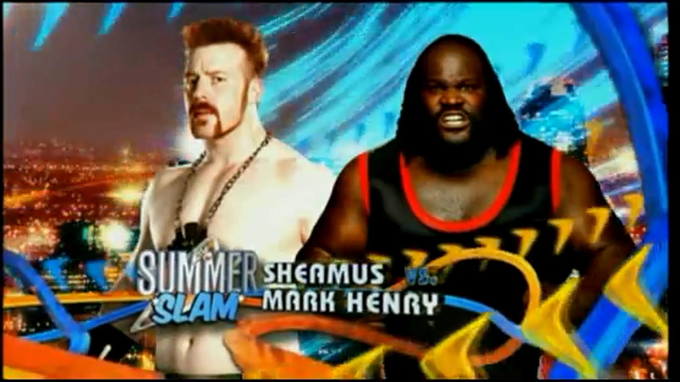 raw, smackdown and ppv matches: WWE Summerslam 2011 match card design!