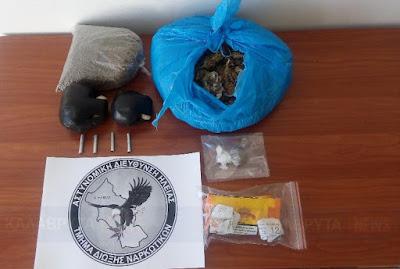 ΗΛΕΙΑ: Συνελήφθησαν δύο άτομα για κατοχή και διακίνηση ναρκωτικών