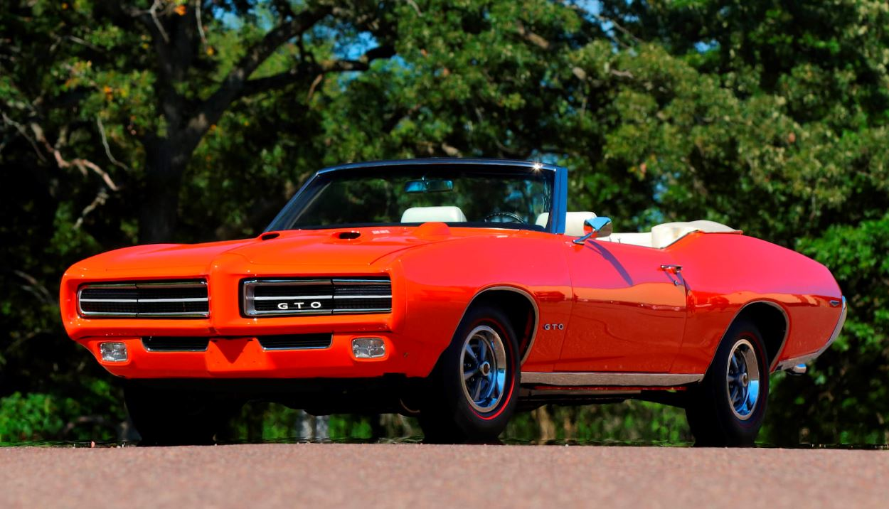 On The Block 1969 Pontiac Gto Convertible So Color Carousel Red Update Lot Vanishes