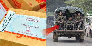 1pc Chicken Joy Wish for  PH Troops in Marawi, Gets Seen-zoned by Jollibee, Concerned Citizens to the Rescue.