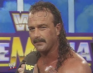 WWF / WWE - Wrestlemania 6: Jake 'The Snake' Roberts cut an awesome pre-match promo on The Million Dollar Man Ted Dibiase