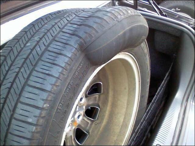 Lốp xe bị hiện tượng phù rất nguy hiểm cho người lái và những người xung quanh