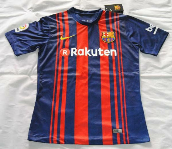best service aedad 5e468 LEAKED: Is This the Barcelona 17-18 Home Kit? - Footy Headlines