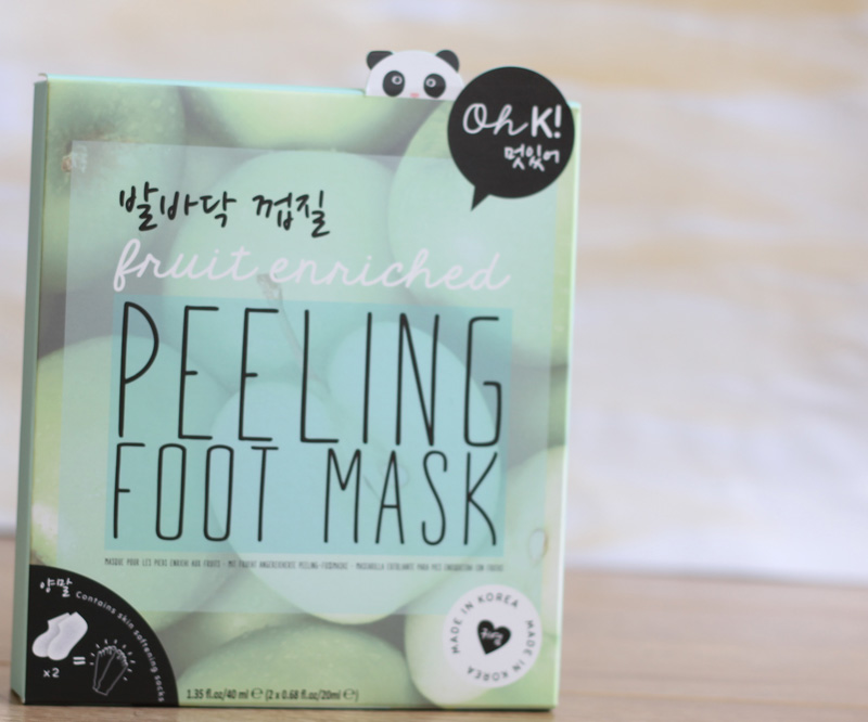 Peeling Foot Mask.