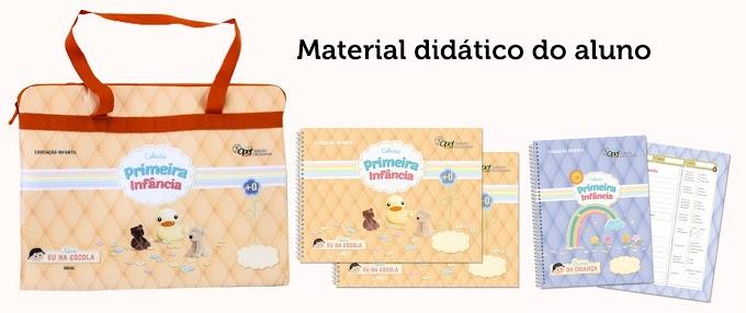 Prefeitura de Sobral entrega material didático para a Educação Infantil Bebê e Infantil I