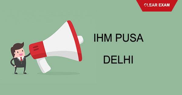 IHM Pusa Delhi