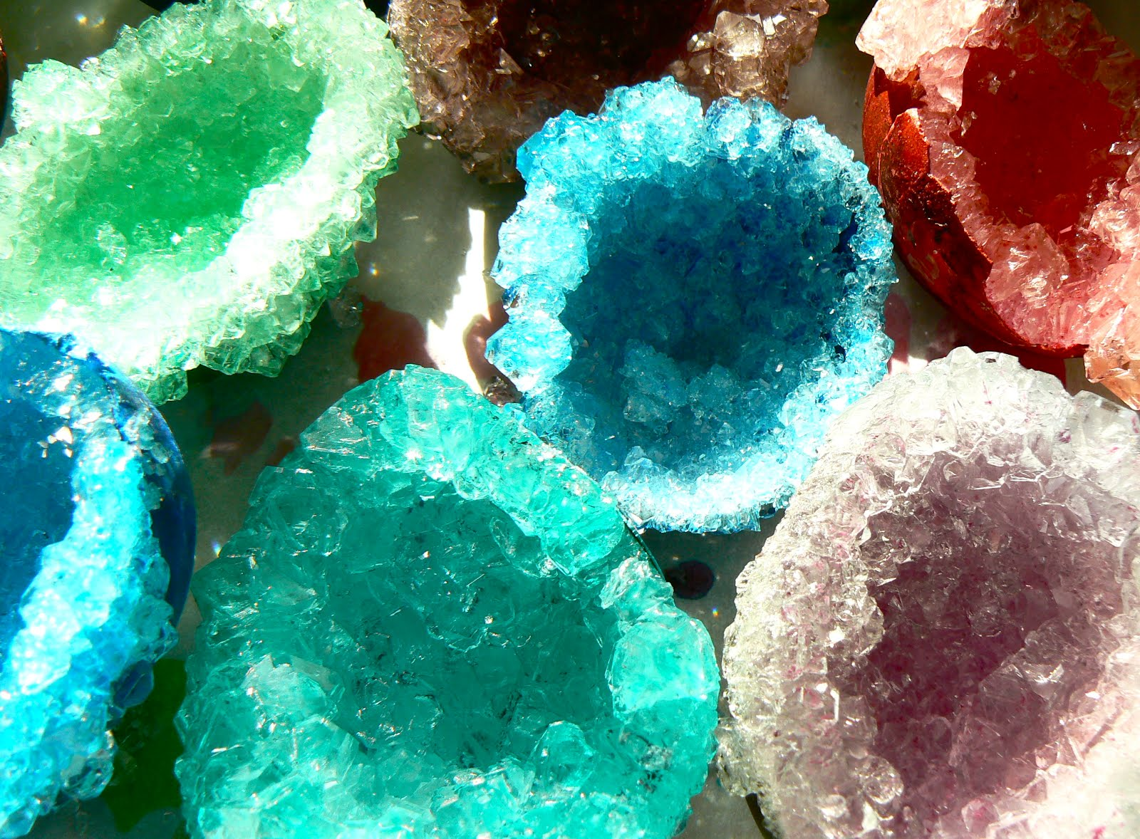 Pixie Paper Arts Geodes Aka Crystal Eggs