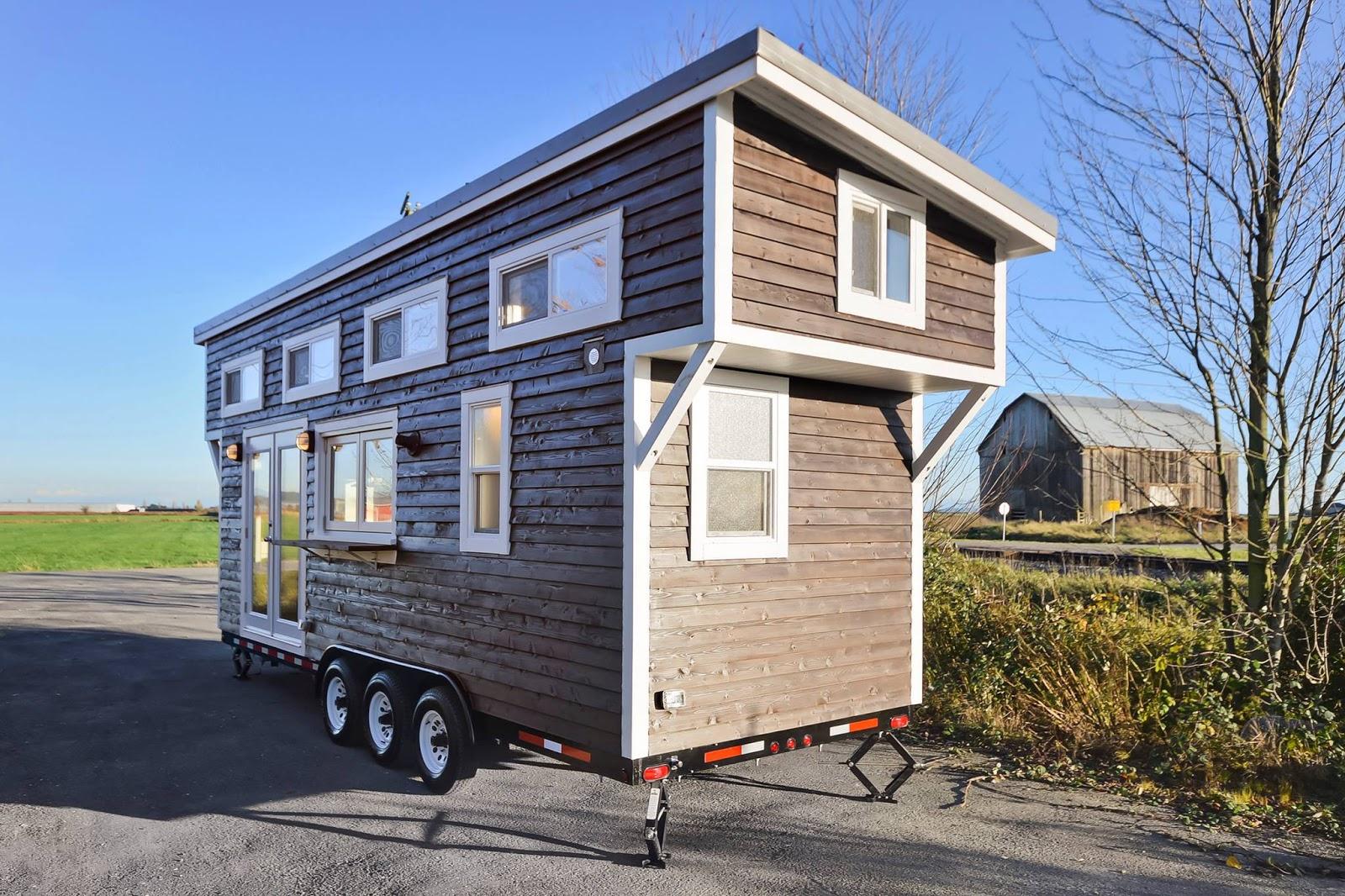 Zuinigaan wonen in een piep klein huis for Micro mini houses