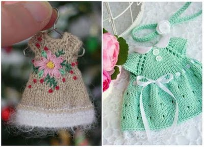 Mini vestidos proyectos celebraciones a crochet